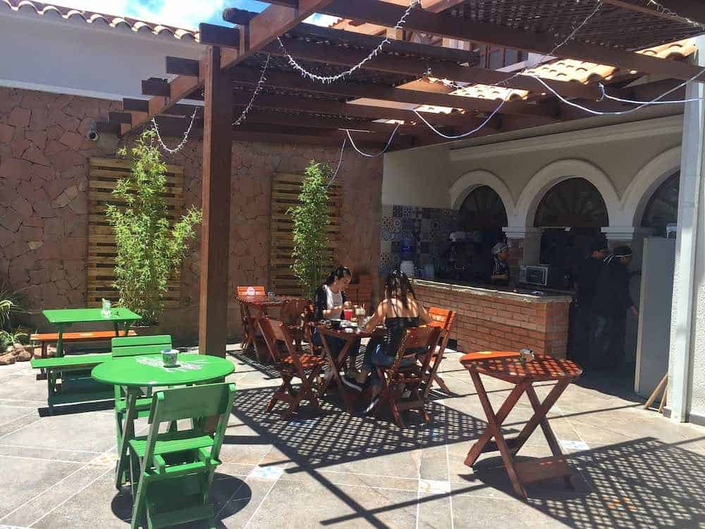 Terrace Typica Cafe Sucre