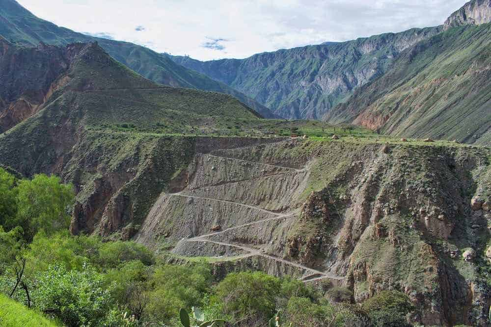 Colca Canyon Switchbacks