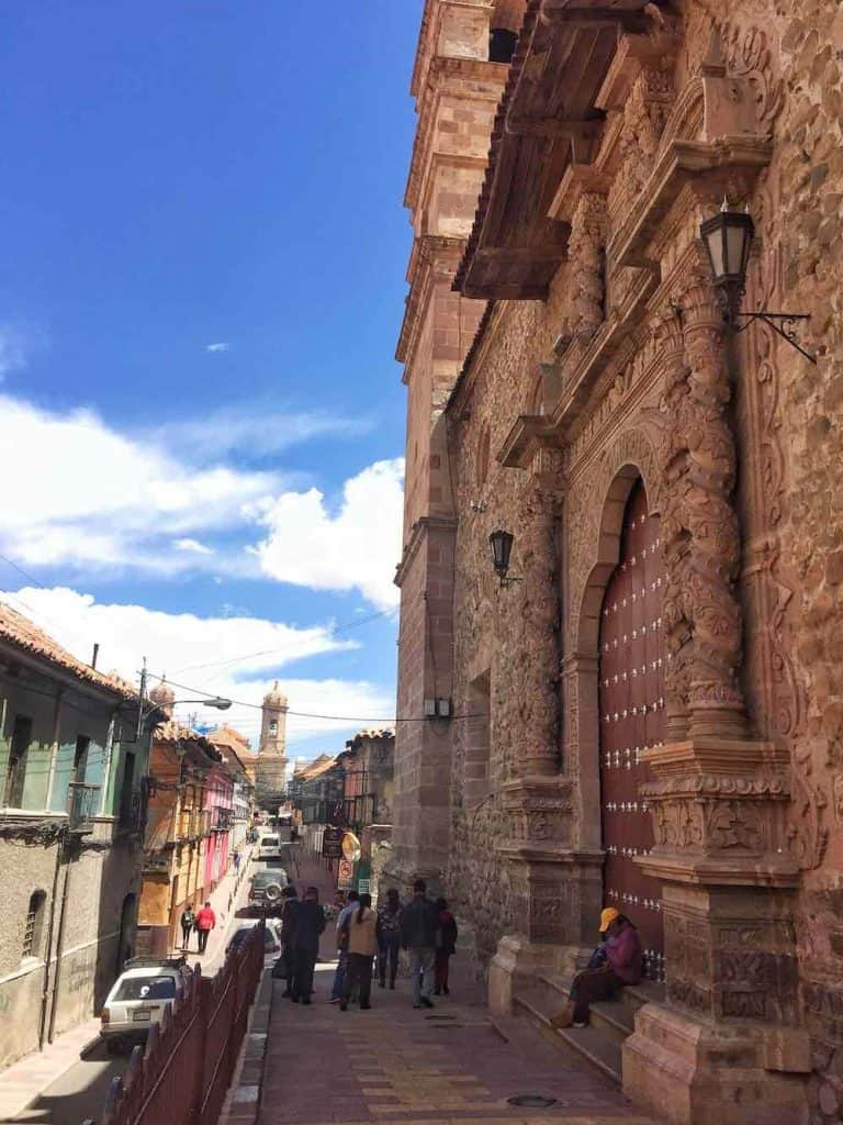 Convento de San Francisco Potosi Bolivia