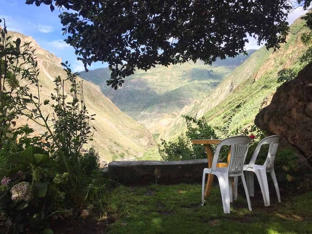Llahuar Colca Canyon accomodation