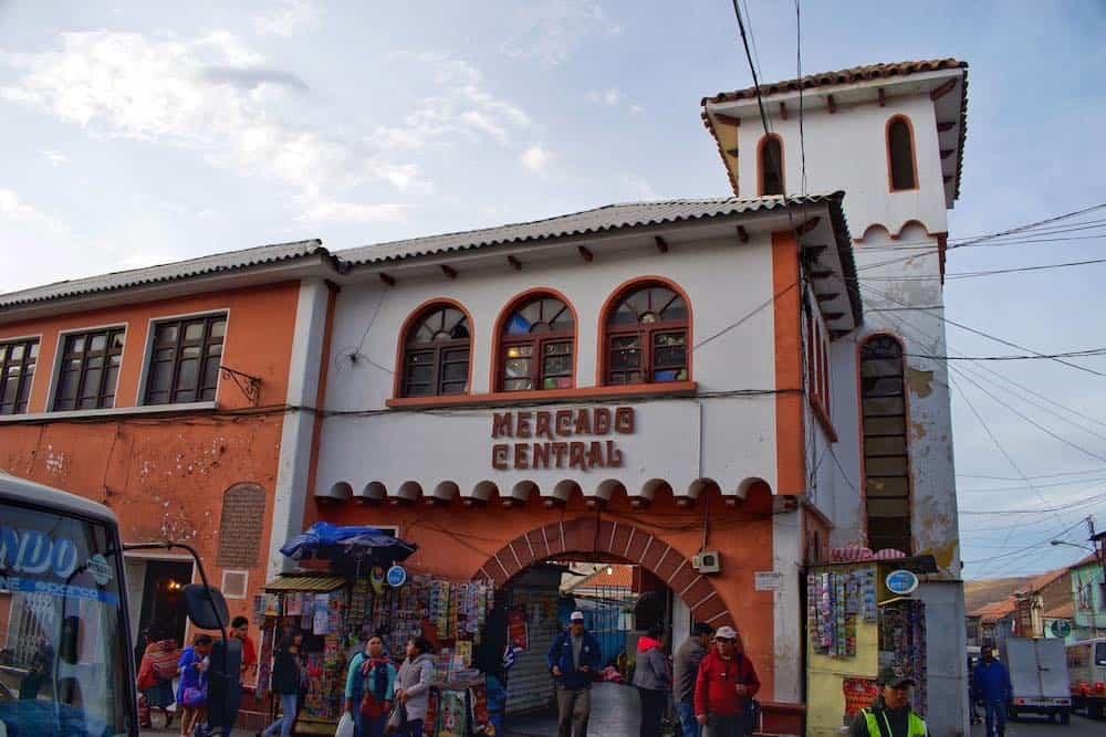 Mercado Central Potosi