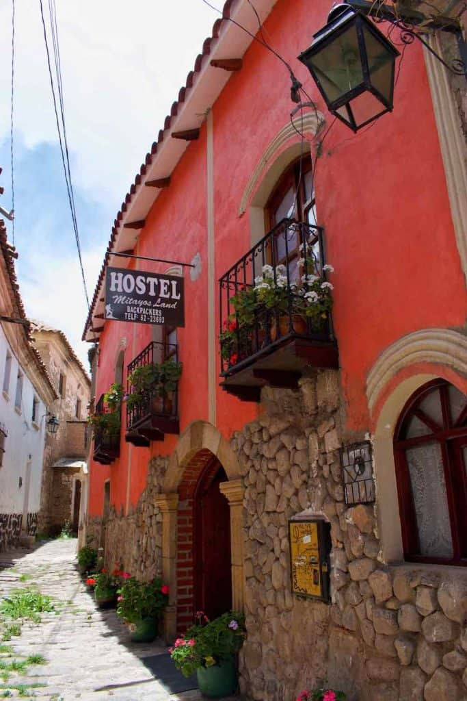 where to stay in Potosi Bolivia