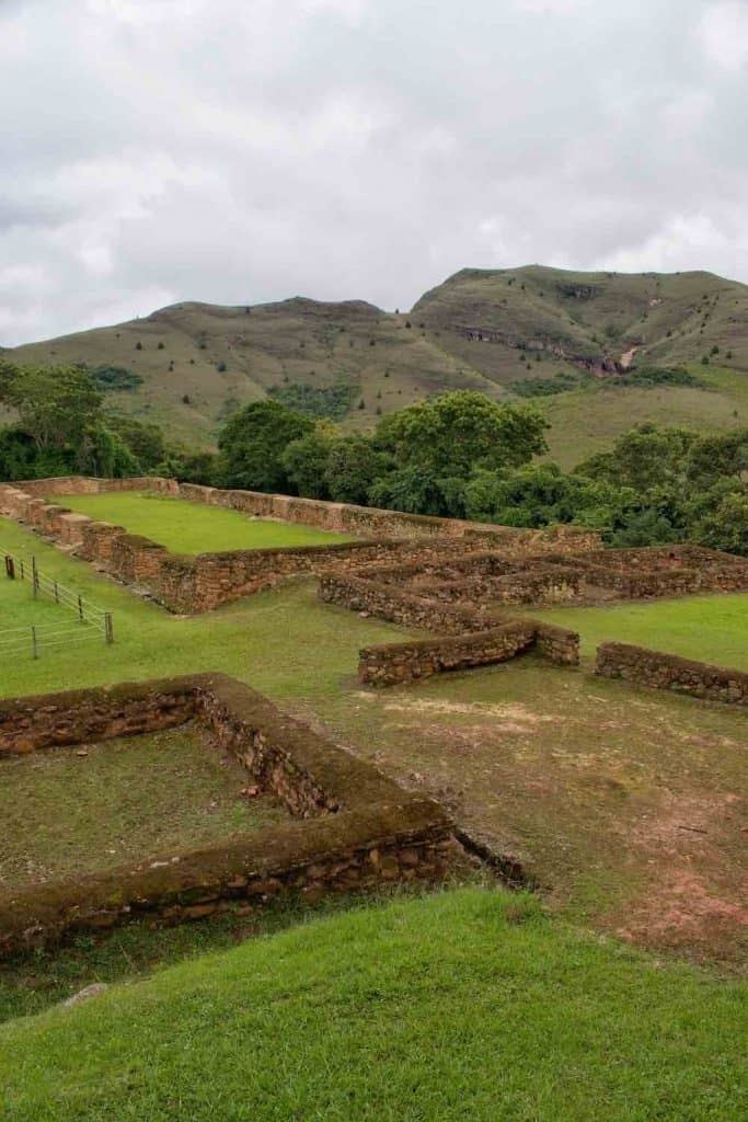 Inca ruins Samaipata Bolivia