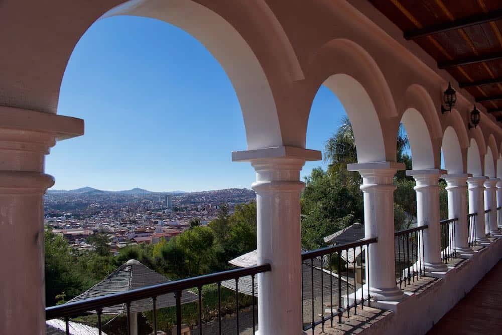 La Recoleta Viewpoint Sucre Bolivia