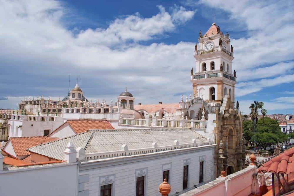 Pictoresque Sucre Bolivia