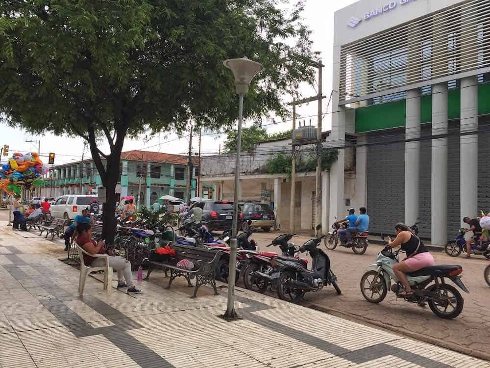 Renting a motorbike in Trinidad Bolivia