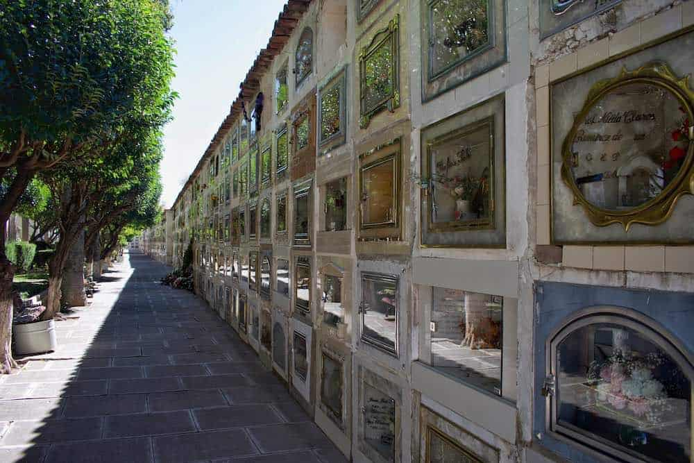 Sucre Bolivia Cemetery