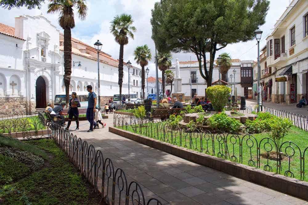 Sucre Bolivia Itinerary