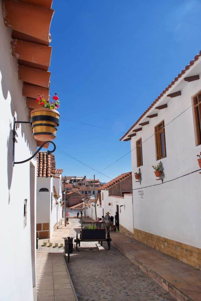 Sucre Bolivia White City