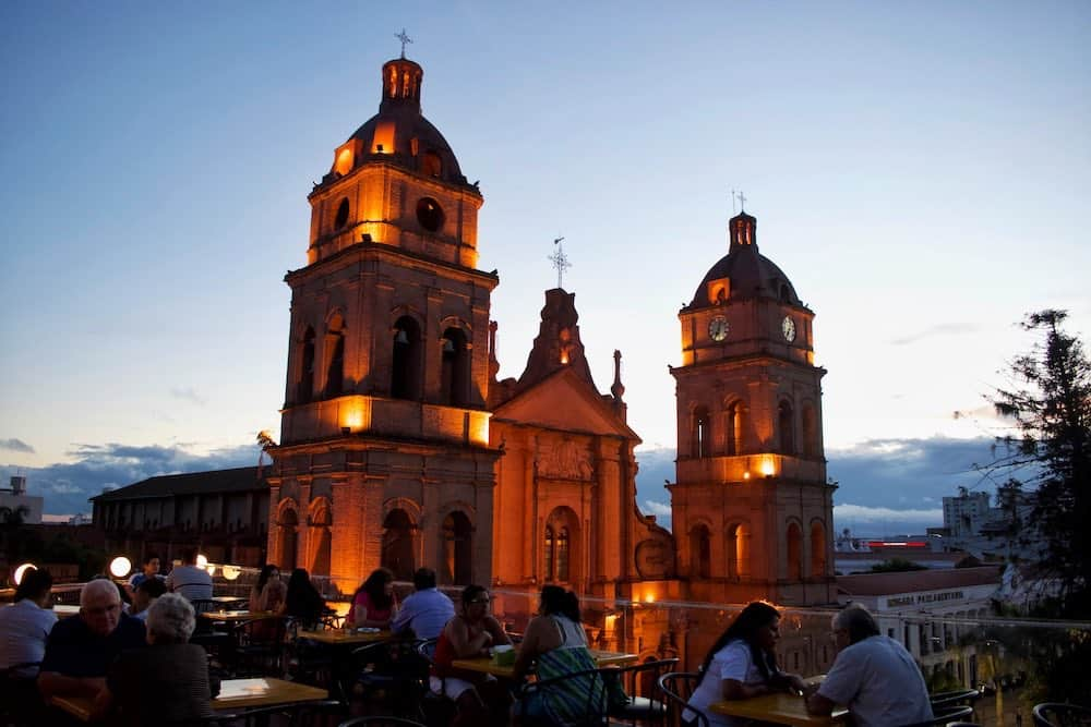 Rooftop bar Santa Cruz Bolivia
