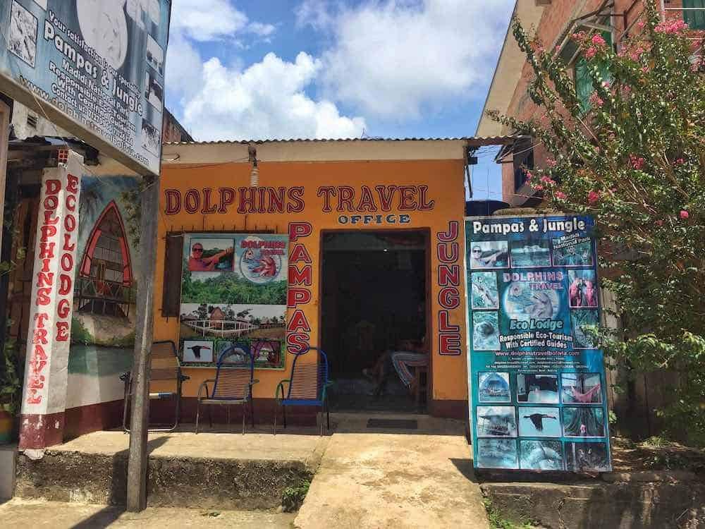 Dolphins Travel Ecolodge Office