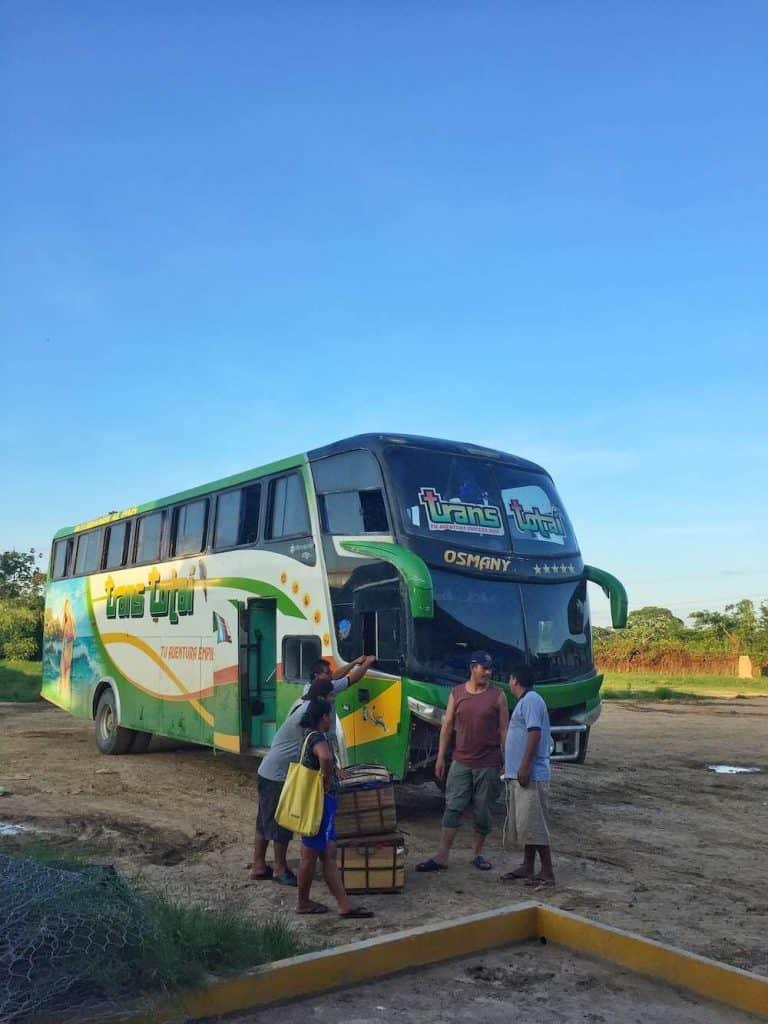 La Paz To Rurrenabaque Bus