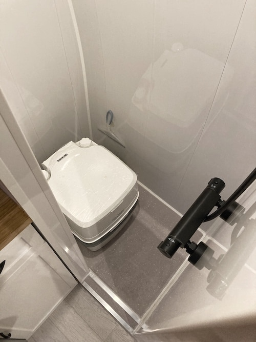 van conversion toilet