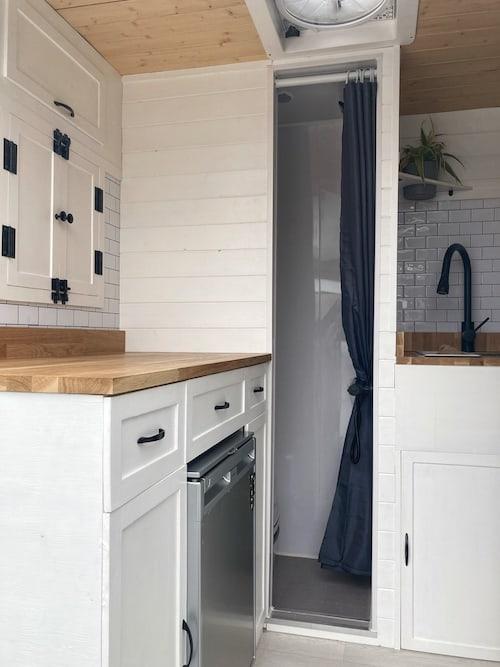 Sprinter Van Conversion Shower