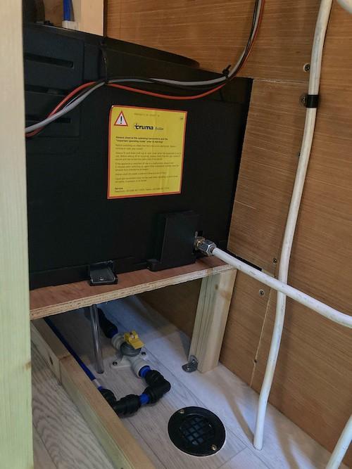 Truma gas heater