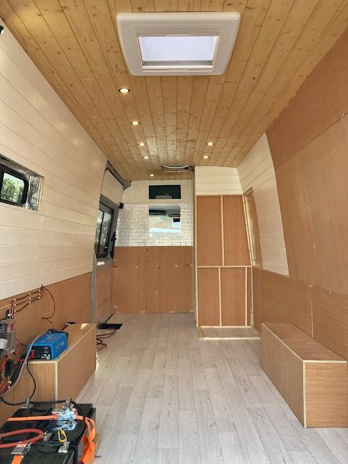 Van Shower Location