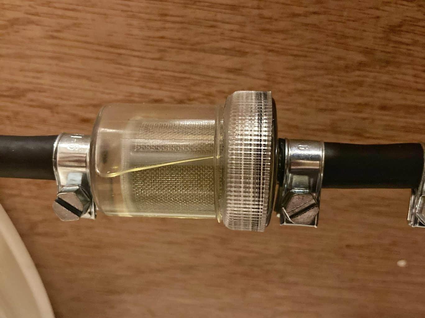 van heater filter