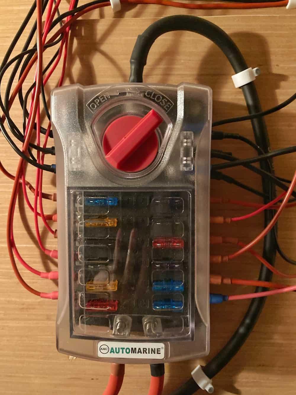 12 volt electrical system