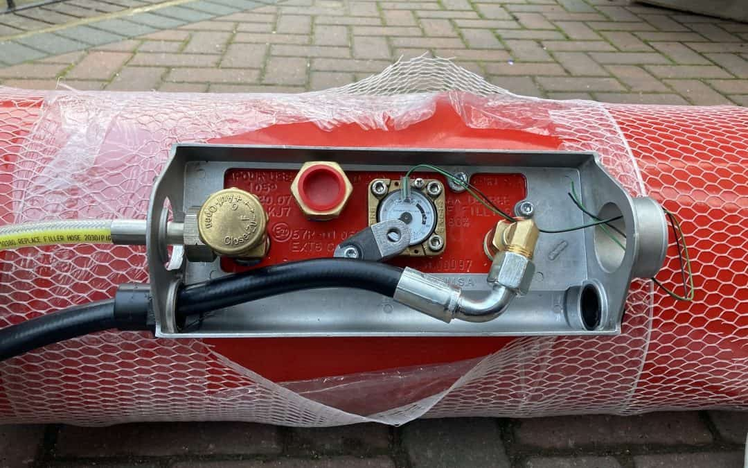 About Our DIY Campervan Gas System