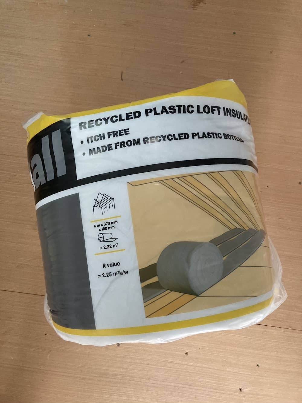 Recycled Plastic Insulation