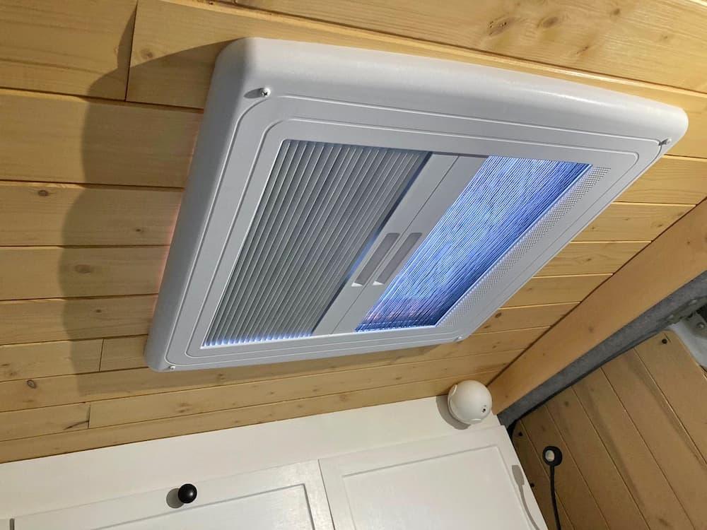 campervan roof vent installation