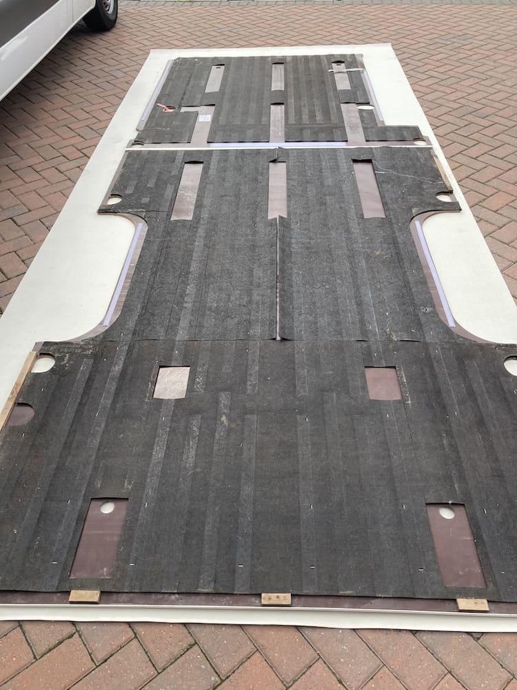best flooring for van conversion
