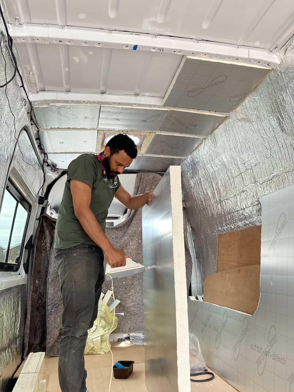 best insulation for vans