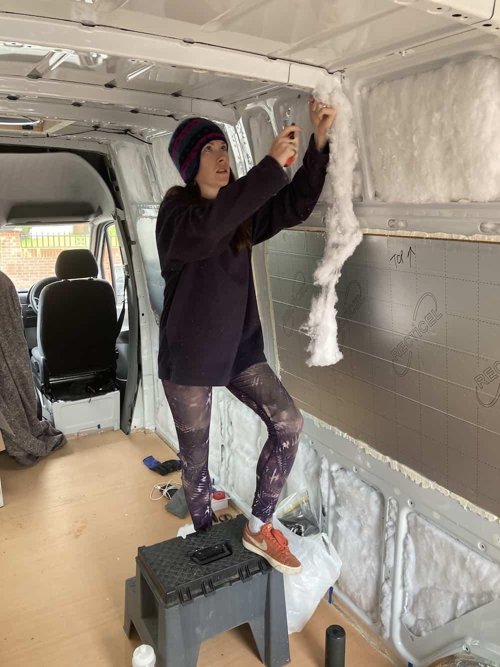 insulating a van