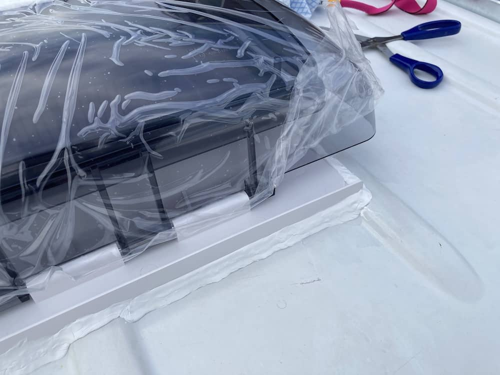 skymaxx rooflight waterproof seal