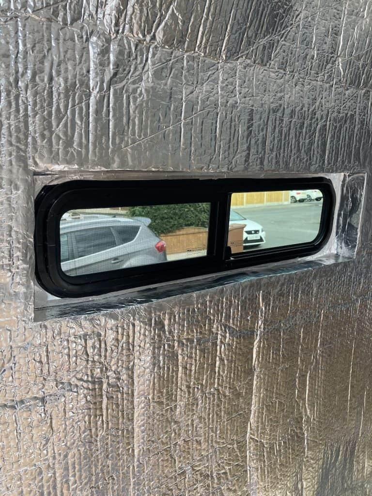 universal van windows