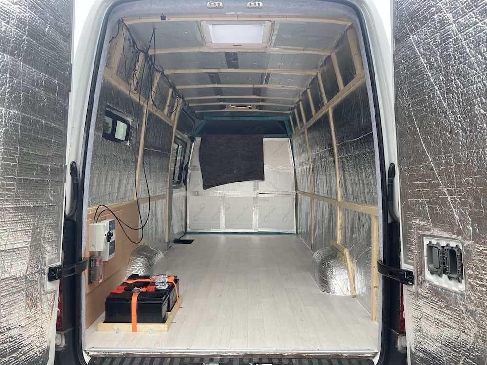 van conversion insulation guide