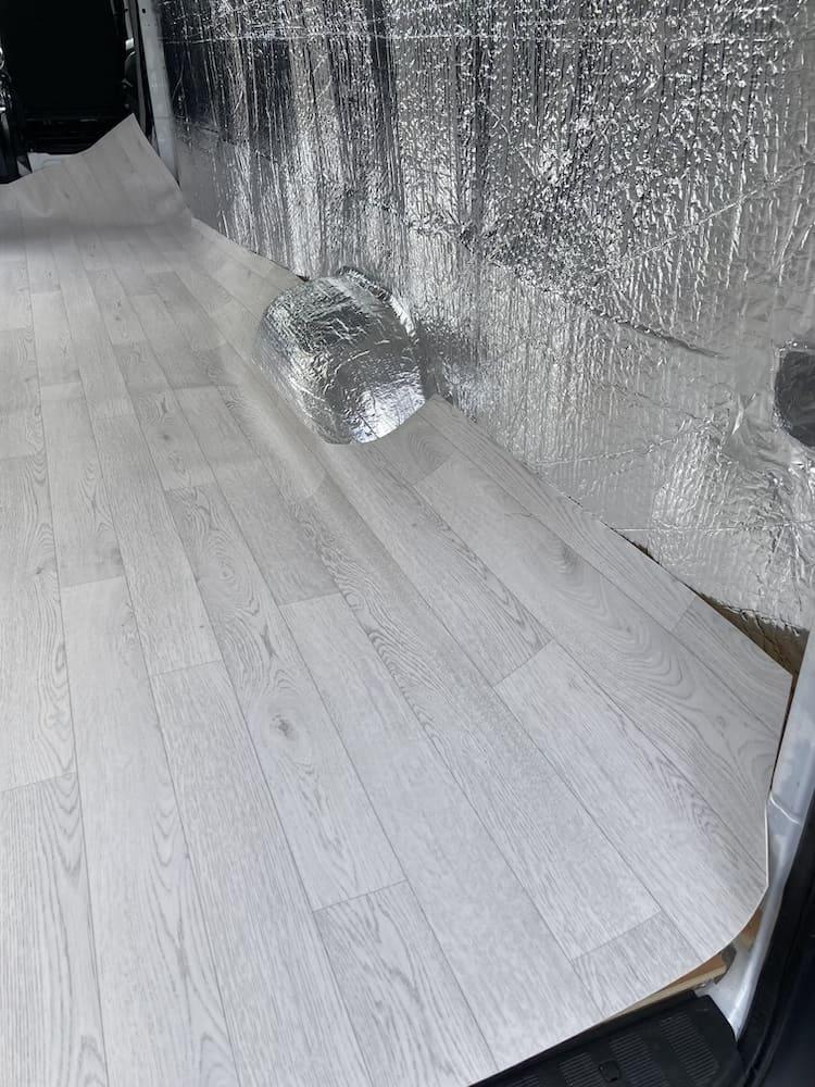 vinyl van flooring