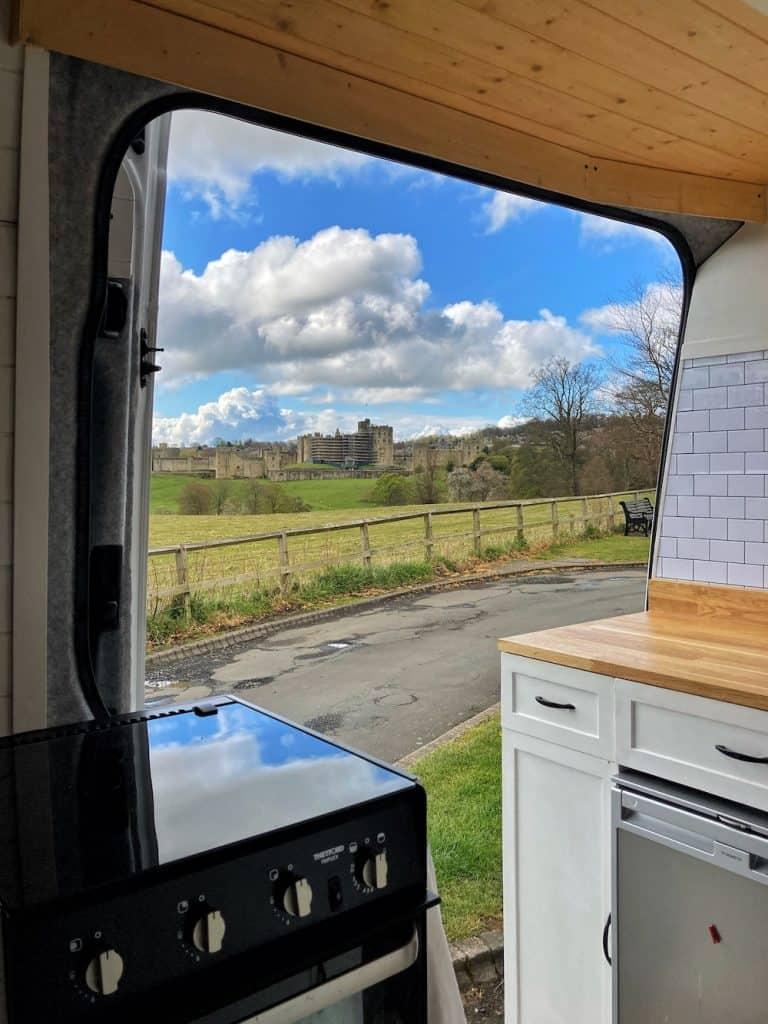 Alnwick Castle View