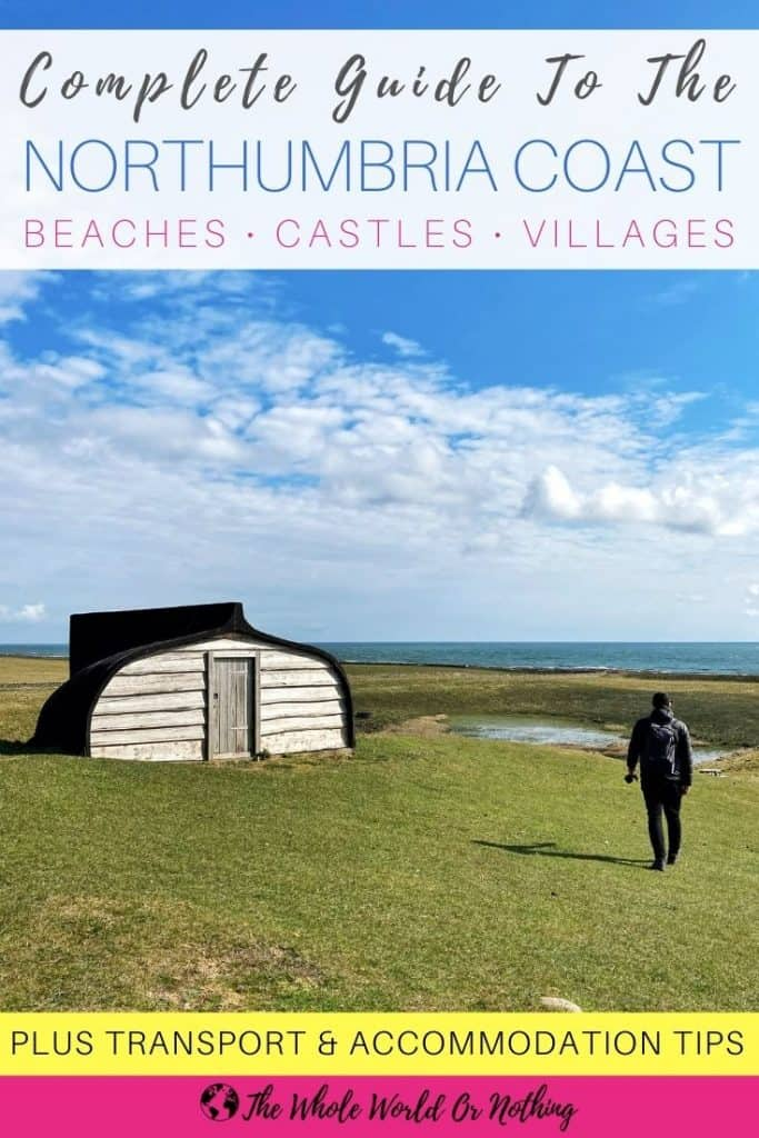 Beach hut on Lindisfarne Island
