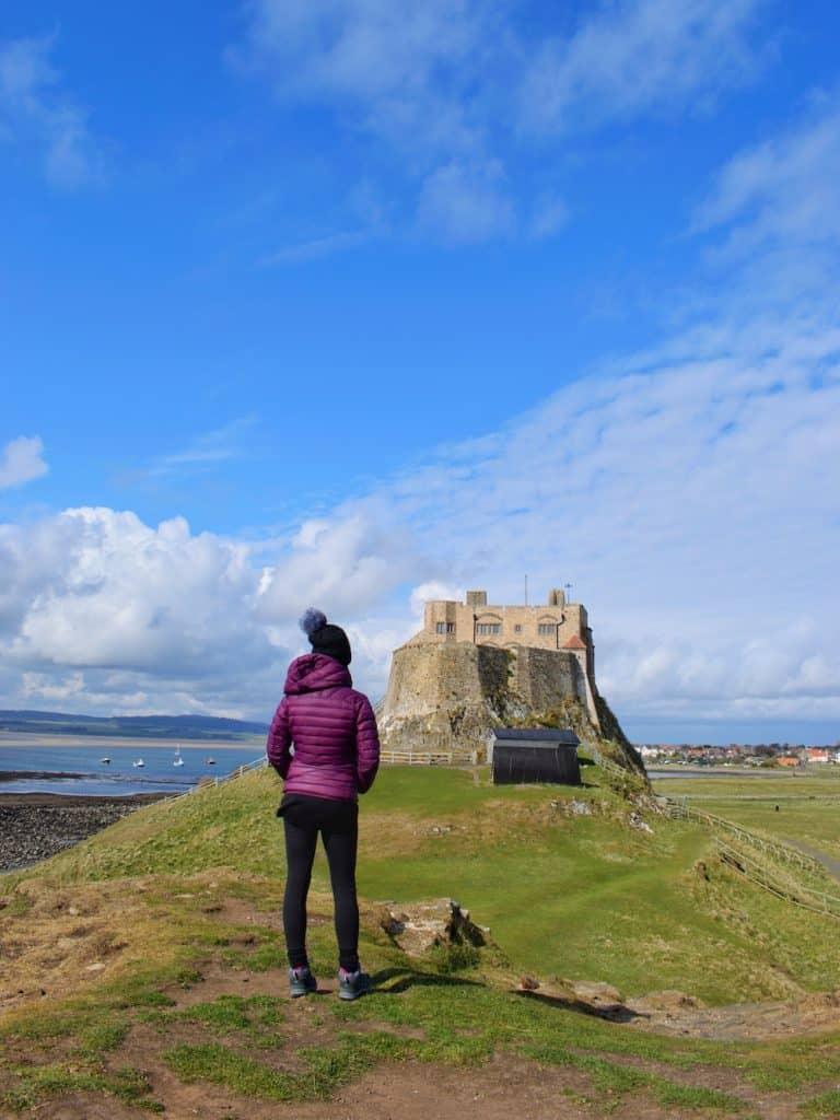 Lindisfarne Castle View
