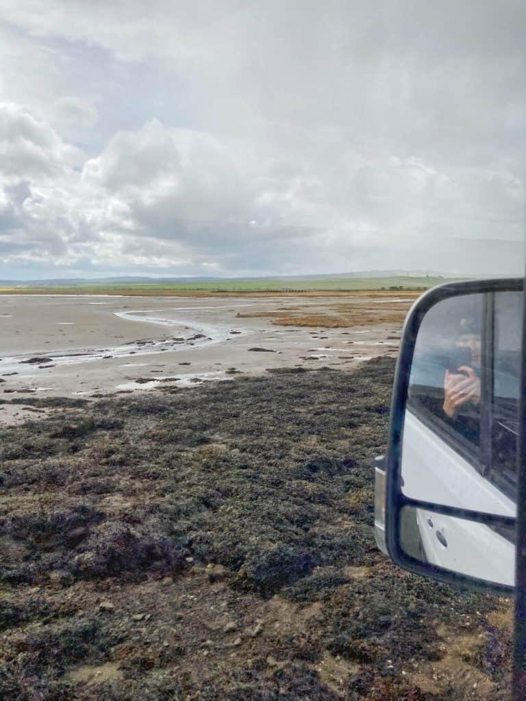 Sea road to Lindisfarne