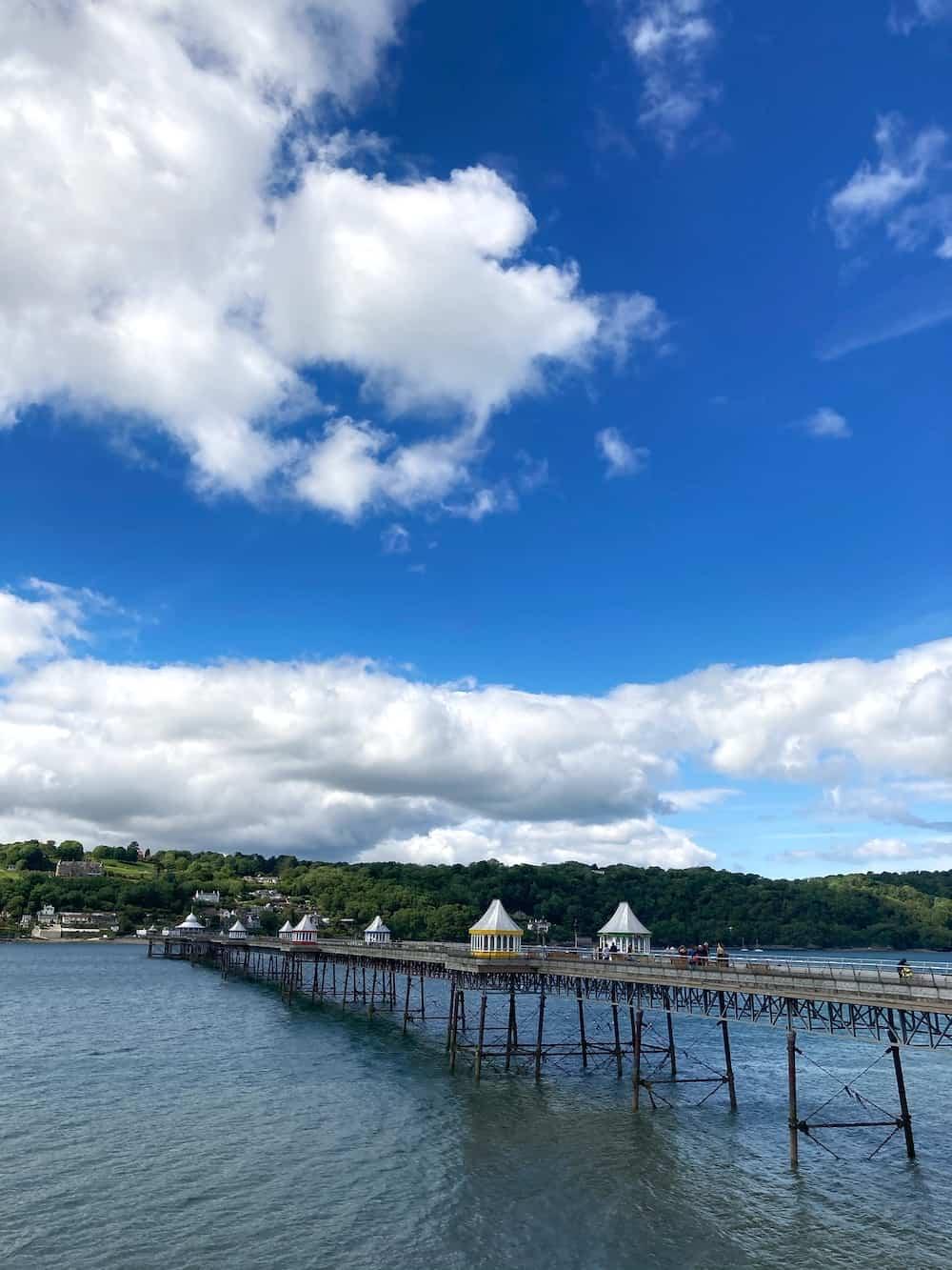 Bangor Pier Wales