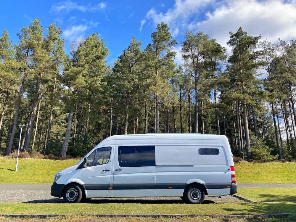 Kielder Forest Wild Camping
