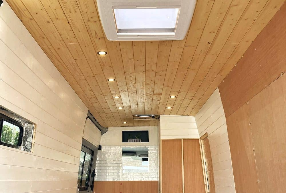 Campervan Cladding: How To Do It