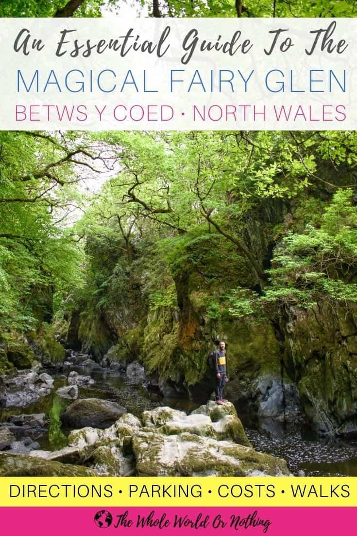 Betws-y-Coed Fairy Glen Wales