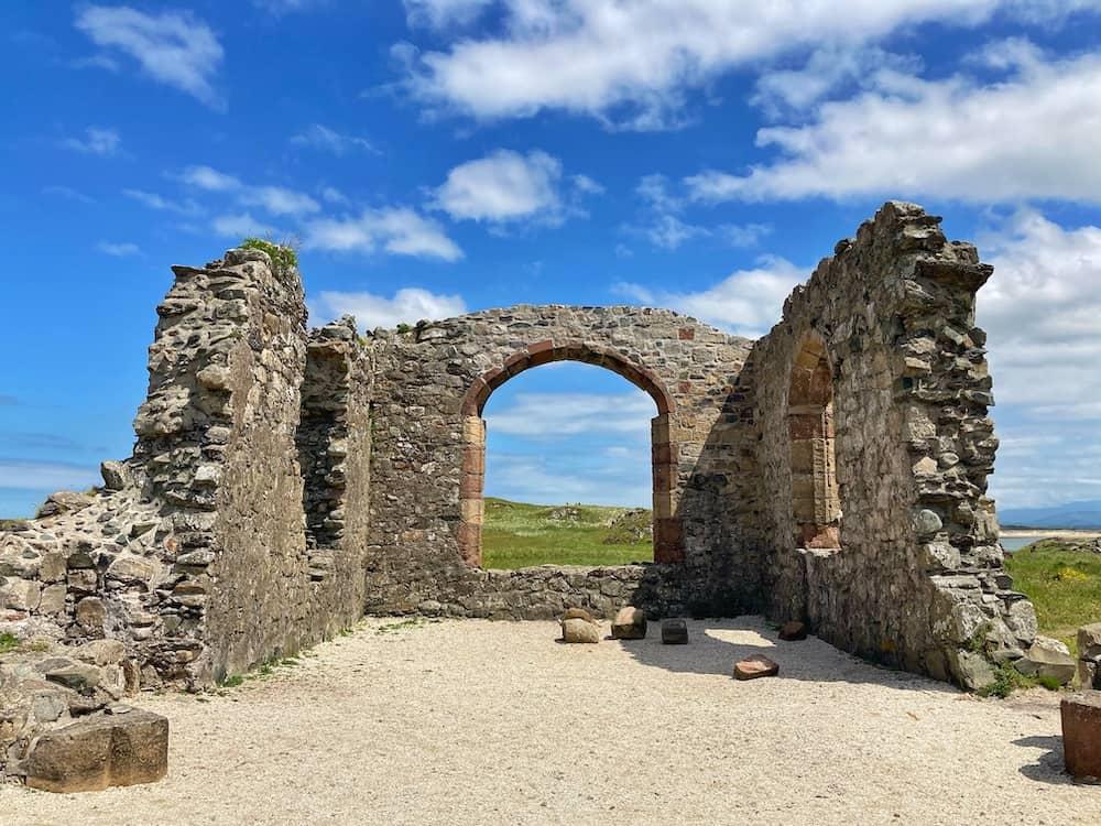Church of Dwynwen Ruins