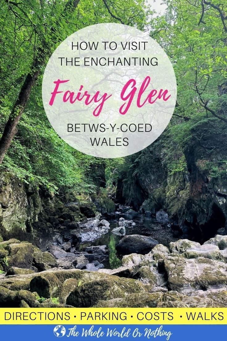 Betws-y-Coed Fairy Glen Gorge