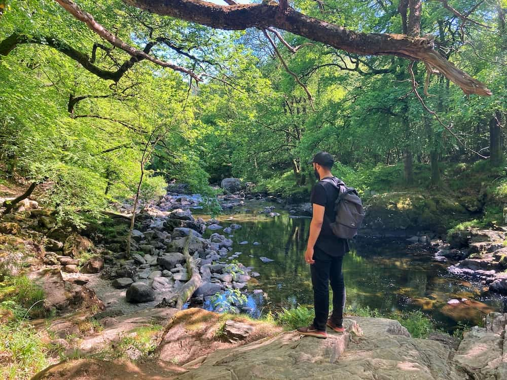 Betws y Coed waterfall walks