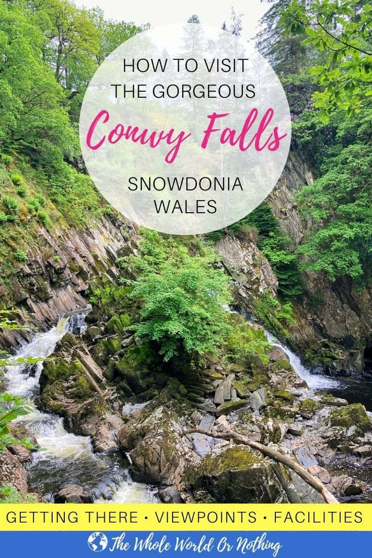 Conwy Waterfall Snowdonia Wales