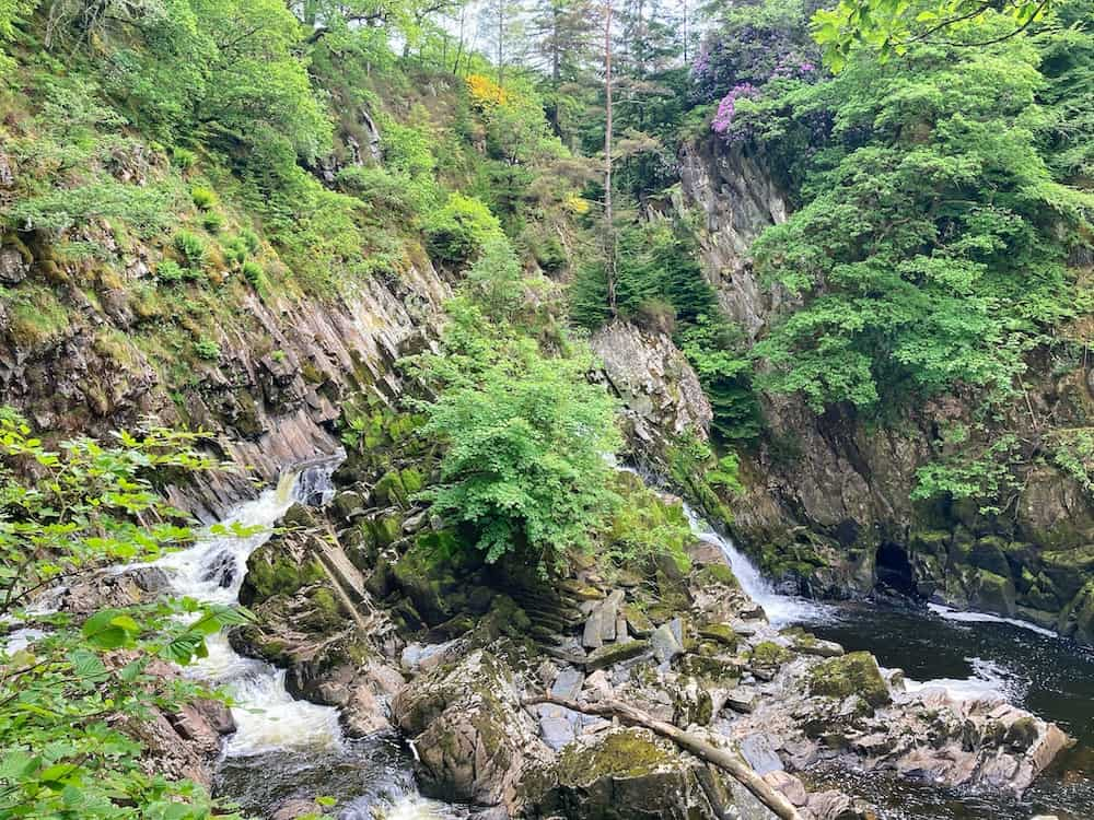 Conwy Waterfall Wales