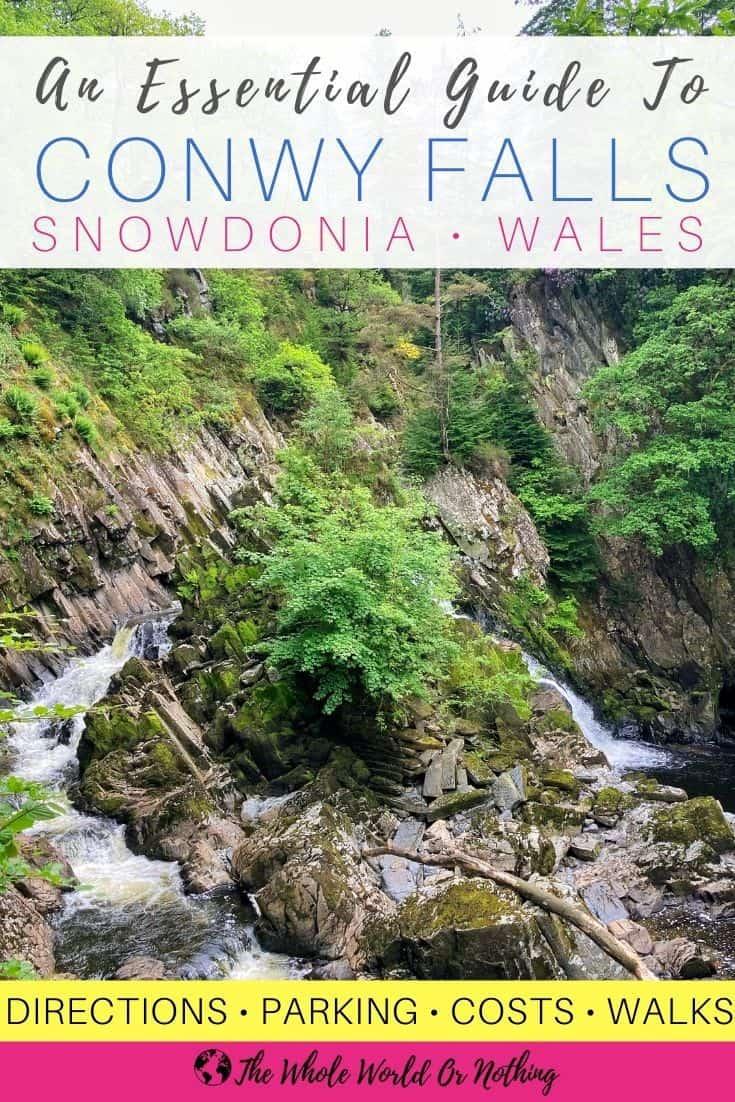 Conwy Falls Snowdonia Wales