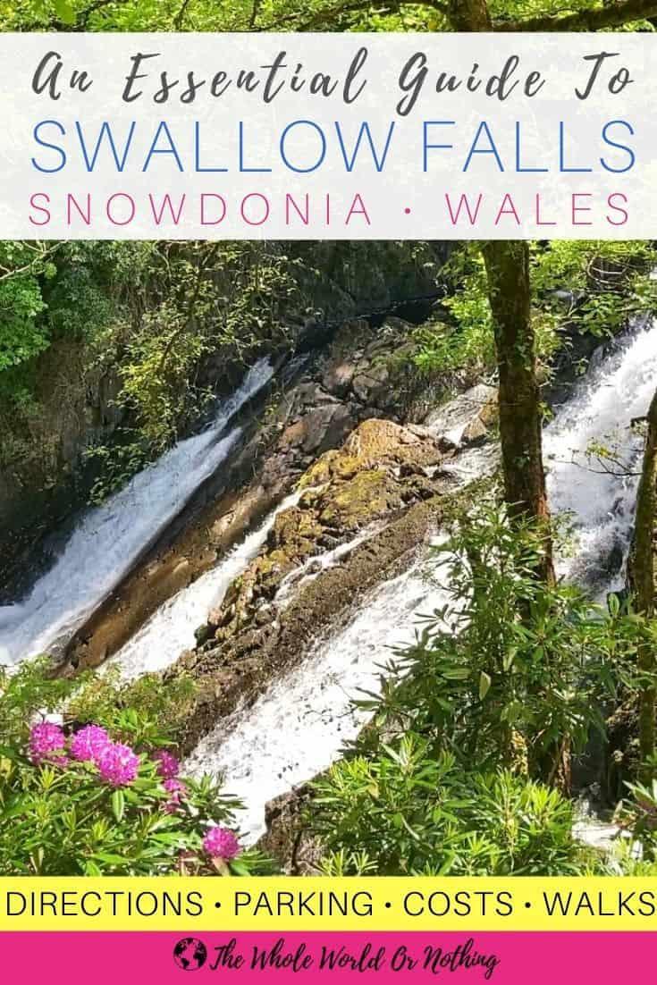 Swallow Falls Wales viewpoint