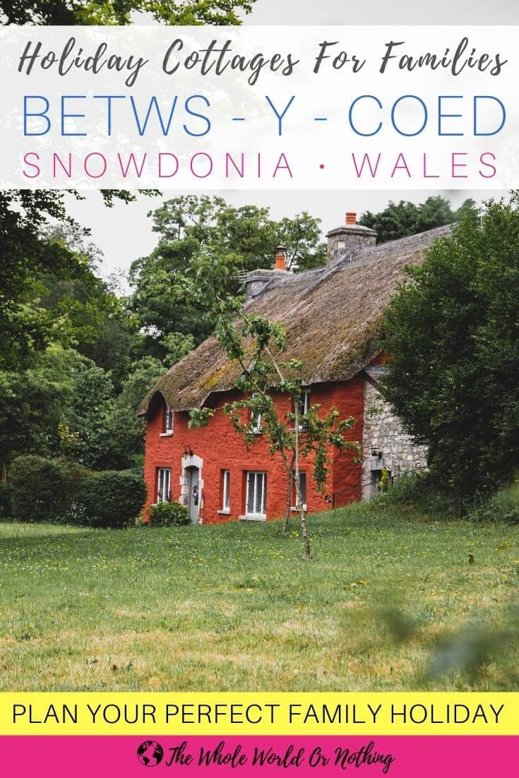 Red cottage in Wales