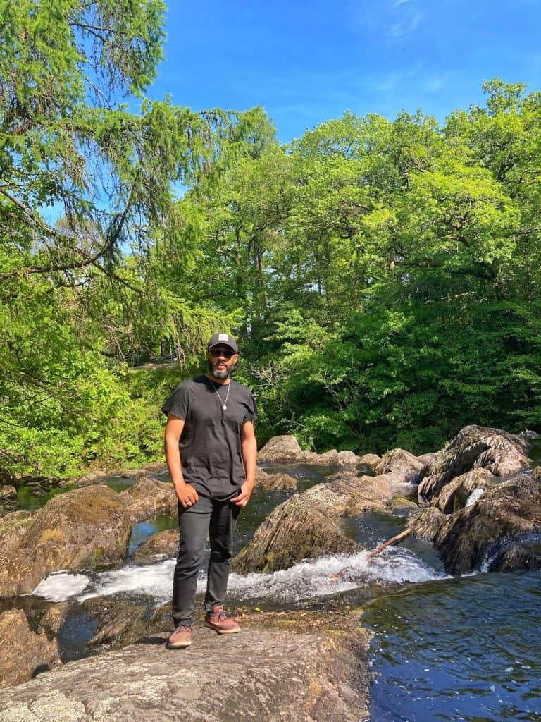 waterfalls near Betws y Coed