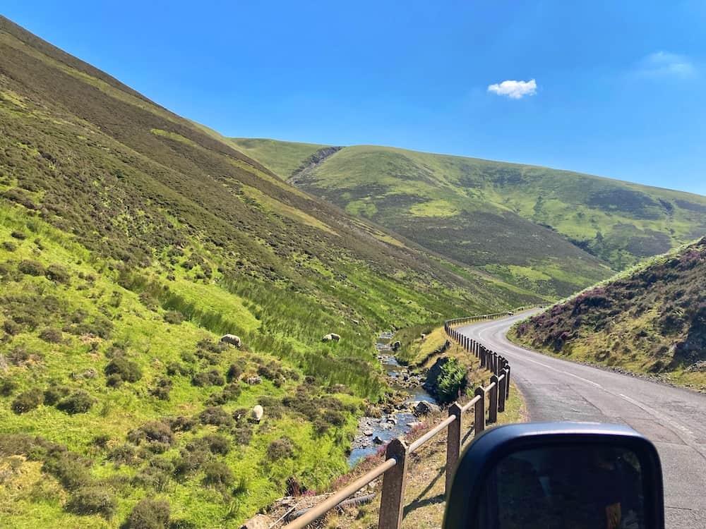 Mennock Pass SWC300 route
